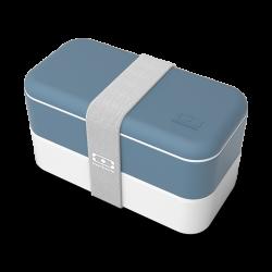 Original Bento LunchBox Made in France Bleu Denim  - MonBento