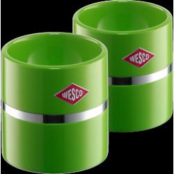 Coquetier Set 2 pces Vert Lime  - Wesco