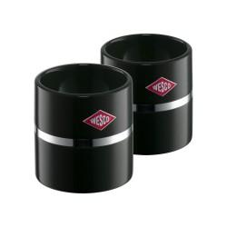 Coquetier Set 2 pces Noir  - Wesco