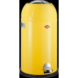 Kickmaster Poubelle 33 l Jaune Citron - Wesco