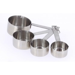 Lot de 4 Mesureurs Inox  - De Buyer
