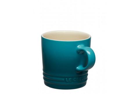 Koffiebeker 20 cl Deep Teal Blauw - Le Creuset