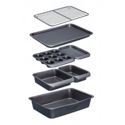Set Antikleef Ovenschalen 7 dlg - KitchenCraft