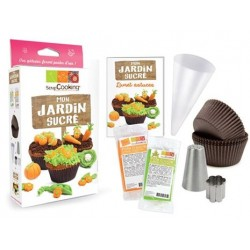 Kit Cupcakes Mon Jardin Sucré  - Scrapcooking
