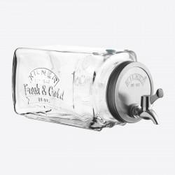 Distributeur de Boisson Frigo 3 Litres - Kilner