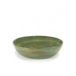 Pascale Naessens Pure Saladier 20 cm Vert de Mer  - Serax
