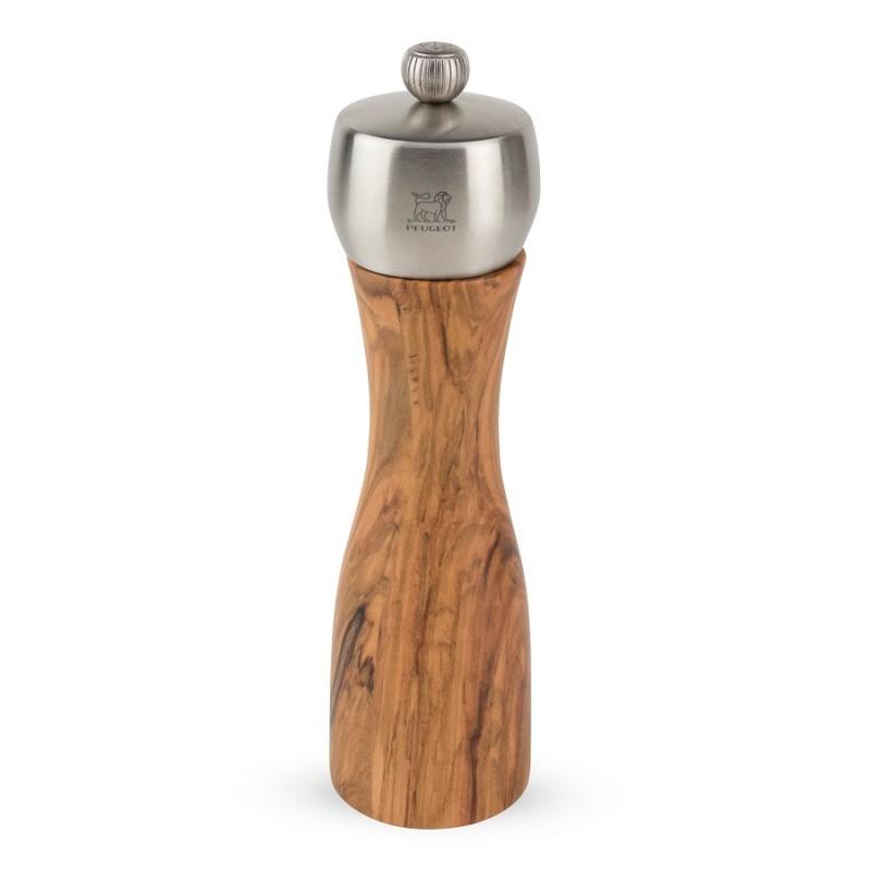 peugeot fidji bois d 39 olivier moulin poivre 20 cm les secrets du chef. Black Bedroom Furniture Sets. Home Design Ideas