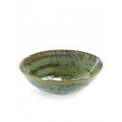 Pascale Naessens Pure Saladbowl 32 cm Zeegroen - Serax