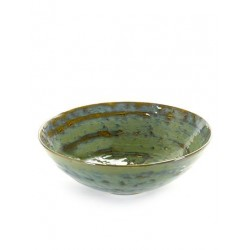 Pascale Naessens Pure Saladier 32 cm Vert de Mer  - Serax