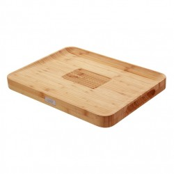 Cut and Carve Planche à Découper Bambou 40x30 cm - Joseph Joseph