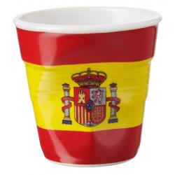 Froissé Vervormde Espresso Kopje 8 cl Vlag Spanje - Revol