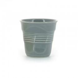 Froissé Vervormde Cappuccino Kopje 18 cl Grijs - Revol