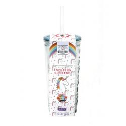 Travel Mug Infusion Glacée Licorne Chewing-Gum 12 pcs  - Quai Sud
