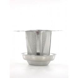 Filtre thé permanent avec Bol Ramasse Goutte  - Quai Sud