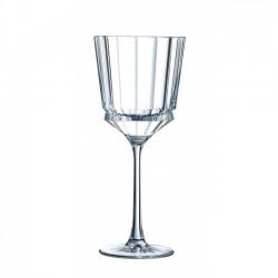 Macassar Witte Wijnglas 6 dlg - Cristal D'Arques