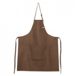 Amazing Aprons Classics Tablier Cuir Taupe  - DutchDeluxes