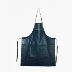 Amazing Aprons Colours Tablier Cuir Blue  - DutchDeluxes
