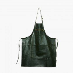 Amazing Aprons Colours Keukenschort  Leer Green  - DutchDeluxes