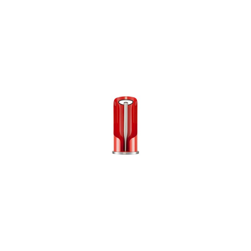 Wesco porte rouleau essuie tout avec poign e rouge les secrets du chef - Poignee porte cuisine rouge ...