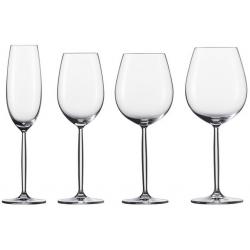Wijnglazen Diva Pack 36 stk 0 -1-2 + 12 flutes 7 - Schott Zwiesel