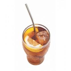 Roestvrijstalen herbruikbare drinkrietjes 6 dlg + Flessenborstel - Joie