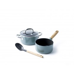 Mayflower Set Casseroles en Céramique Anti-adhésives  - Greenpan