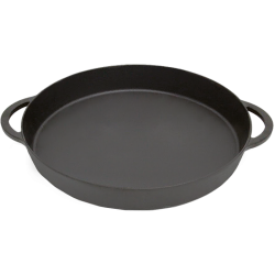 Cast Iron Skillet Large, XLarge, XXLarge  - Big Green Egg