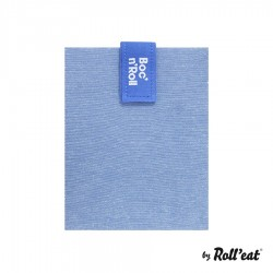 Herbruikbare Sandwich Verpakking Boc n Roll Eco Blauw