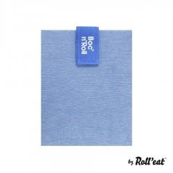 Herbruikbare Sandwich Verpakking Boc n Roll Eco Blauw - Roll Eat