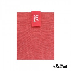 Emballage Sandwich Réutilisable Boc n Roll Eco Rouge  - Roll Eat