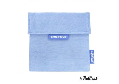 Snackbag Snack n Go Eco Blauw - Roll Eat