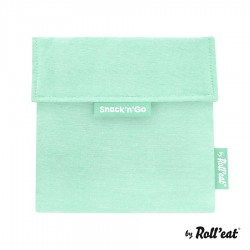 Snackbag Snack n Go Eco Mint Green - Roll Eat