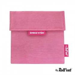Sac à Collation Snack n Go Eco Violet - Roll Eat