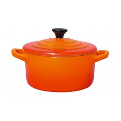 Mini Cocotte Orange Volcanique - Le Creuset