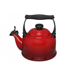 Fluitketel Tradition Kersenrood - Le Creuset