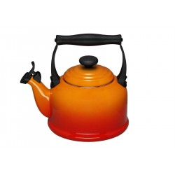 Bouilloire Tradition Orange Volcanique - Le Creuset