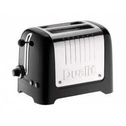 Lite Toaster Noir 2 tranches