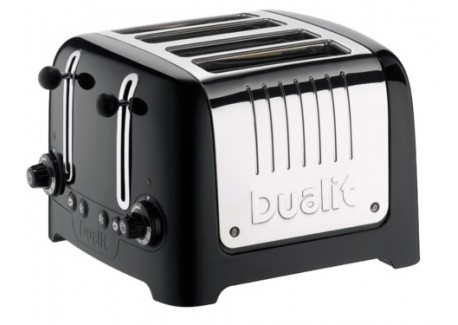 Lite Toaster Noir 4 tranches