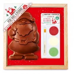 Père Noël Chocolat au Lait à Peindre  - Comptoir de Mathilde