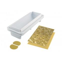 3D Bakvorm Bûche Diamond - Silikomart