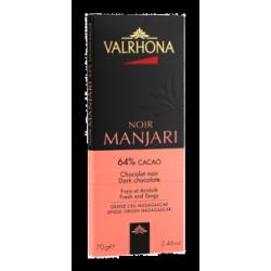 Chocolat Noir Manjari Tablette 70 g  - Valrhona