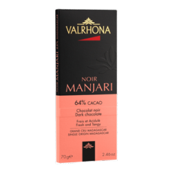 Donkere Chocolade Manjari Tablet 70 g - Valrhona