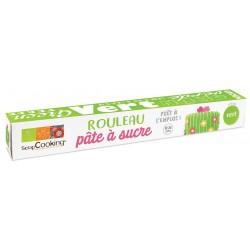 Rol Suikerpasta Groen 430 g - Scrapcooking