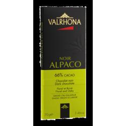 Donkere Chocolade Alpaco Tablet 70 g - Valrhona
