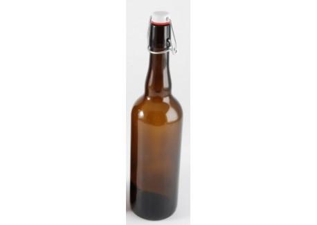 Bierfles Bruin 0.75 l - Radis et Capucine