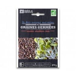 Sachet Graines à Germer Radis Daikon Bio 50 g