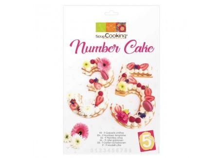 Number Cake Kit  - Scrapcooking