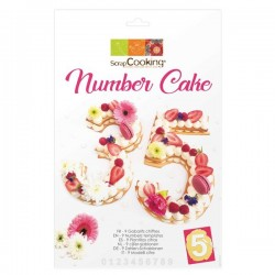 Number Cake Kit  - Scrapcooking