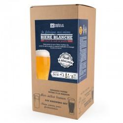 Coffret Brassage Bière Blanche 5 l  - Radis et Capucine
