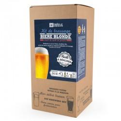 Coffret Brassage avec Malt en Poudre Bière Blonde Pils 5 l  - Radis et Capucine